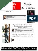 SGPAS News October 2012