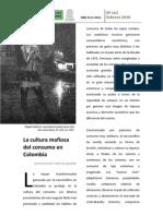 La cultura mafiosa del consumidor Colombiano