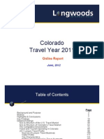 Colorado Tourism Report