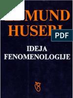 Edmund Huserl - Ideja fenomenologije