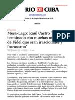 Boletín de Diario de Cuba   Del 28 de mayo al 4 de junio