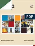 Bosicor Pakistan - Annual Report 2007