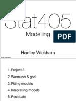 23 Modelling