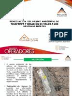 REMEDIACIÓN  DEL PASIVO AMBIENTAL DE  TICAPAMPA EXPOSICION AL CONGRESO