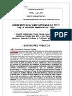 APOSTILA AVANÇADA DIREITO ADMINISTRATIVO TRF ANALISTA