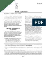 calibracion herbicidas