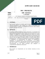N-pry-car-1!06!001-00 Ejecucion de Estudios Hidraulicos Para Puentes