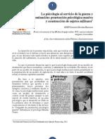 OCEP Penetración psicológica masiva y construcción de sujetos militares