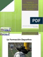 1.2 Metodologia de Entrenamiento Deportivo - La Formacion Deportiva - Gustavo Perez