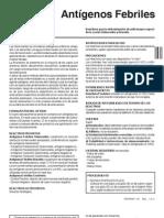 Antigenos Febriles I