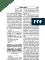 Decreto Supremo N° 010-2013-MIDIS