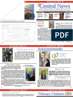Central 1st Ward Newsletter June 2013