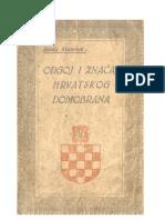 Slavko Kvaternik - Odgoj i Značaj Hrvatskog domobrana