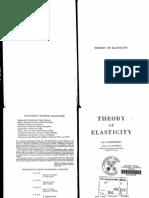 Theory of Elasticity - TIMOSHENKO