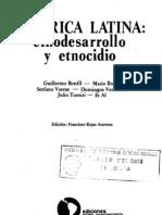 Bonfil Gullermo El Etnodesarrollo Sus Premisas Juridicas