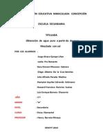 Pryectoagaua Salada Nuevo Documento de Microsoft Office Word