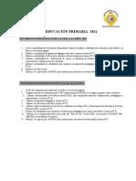 DOCUMENTOS DE FINALIZACION DE AÑO 2012