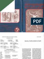 Historia y Biodiversidad en El Peru - Boletin de Antropologia