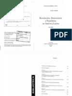 Knight, Alan_Revolución Democracia y populismo en América Latina