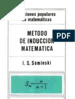 0190 - Método de inducción matemática (I. S. Sominski)