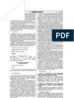 Reglamento para el Otorgamiento de Autorizaciones de Vertimiento y Reusos de Aguas Residuales Tratadas