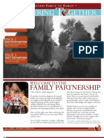 Partnering Together - Welcome to the Family Partnership