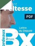 Novembre 2012 - Lettre du député #1