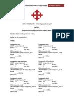 Digitales I - Programacion Compuertas Logicas