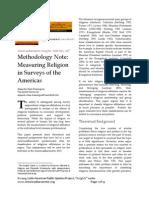 Methodology Note