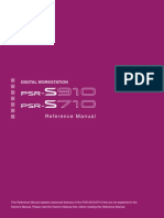 Manual de Referencia (English) PSR S910-710