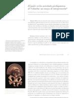 El poder en las sociedades prehispánicas