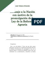 Mensaje a la nación con motivo de la promulgación de la ley de la reforma agraria.docx