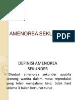 ppt Amenore