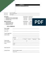 FORM 1a - Aplikasi Permohonan MATERI KREDENSIAL