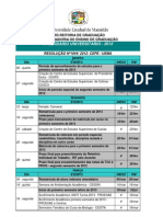 Calendario Universitario 2013 MODIFICADO