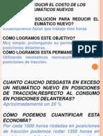 Reduccion de Costos en Llantas Nuevas