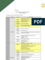 Calendario de Pruebas 2013