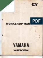 yamaha rx z 6 speed owner manual rh scribd com Rxz Modified Rxz Thai