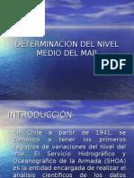 Determinacion Del Nivel Medio Del Mar2
