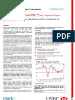 HSBC China Composite PMI (5 June 2013)