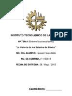 Fundacion de Estados de Mexico
