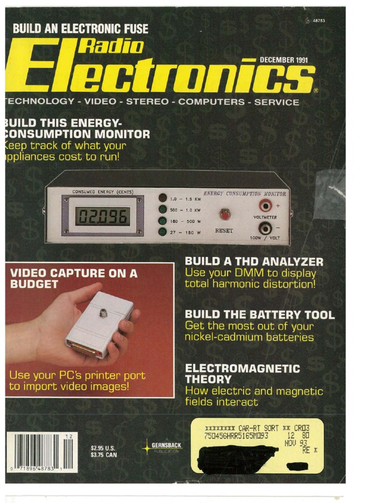 Re 1991 12pdf Microprocessor Laser Two Tone Alarm Generator Using Lm3900