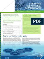 Storm Water Harvesting Guideline