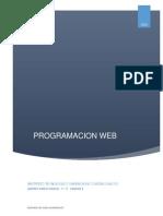 Unidad 5 Programacion Web