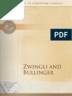 Zwingli and Bullinger (Library of Christian Classics)