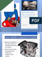 REPARACIÓN DE UN MOTOR A GASOLINA
