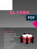 PPT FORO