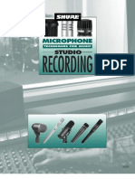 Audio - Shure Microphone Techniques for Music Studio Recording