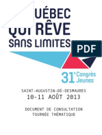 Document de Consultation 2013