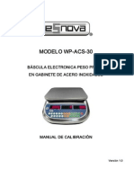 WP-ACS-30 Manual de operación